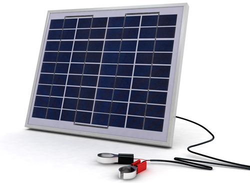 SolarLand 10w 12v Multicrystalline Solar Panel Charging Kit SLCK-010-12