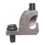 GROUNDING, LAY-IN LUG, TIN PLATED CU W/SS SCREW, UL-LISTED, DIRECT BURIAL, W/#10-32 SS SCREW AND NUT, 10 PC