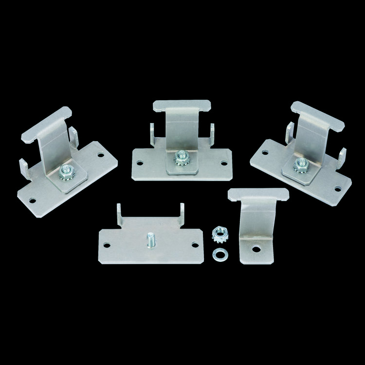 Zamp Solar Clamp Style Mounting Feet for US Made Modules (pkg of 4) ZS-MF-US