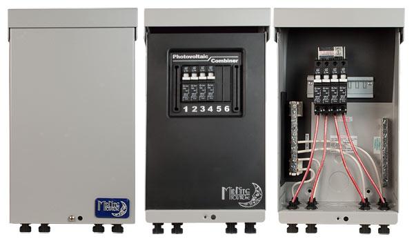 Solar Power System Combiner Box Circuit Breaker