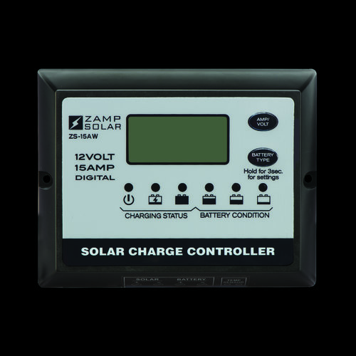 15-Amp All Weather - Digital Display - 5-Stage Smart Controller ZS-15AW
