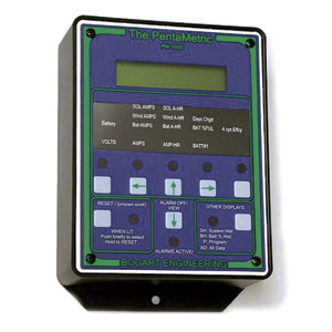 Pentametric Battery Monitor Display Unit