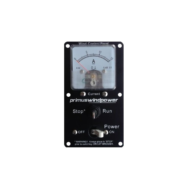 Primus Windpower Control panel for 12vdc AIR Breeze/40