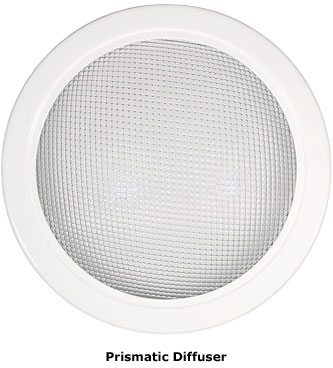 "Natural Light 10"" Diffuser (Prismatic)"