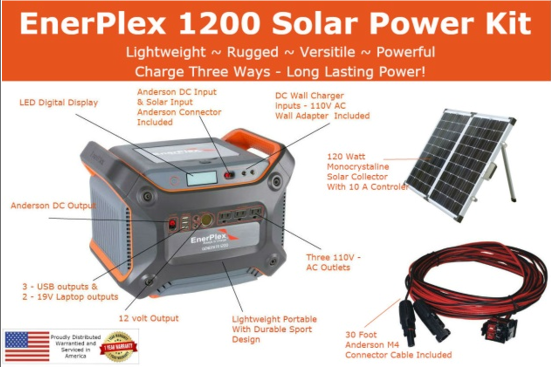 Sierra Wave Enerplex Solar Power Kit