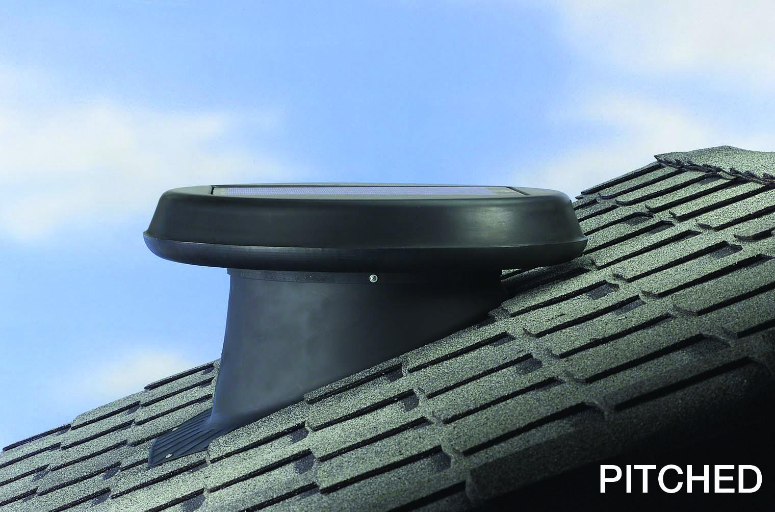 Solar star attic fan complaints - Solar Star Roof Attic Solar Fan Vent Pitched Model By Solatube Rm1200