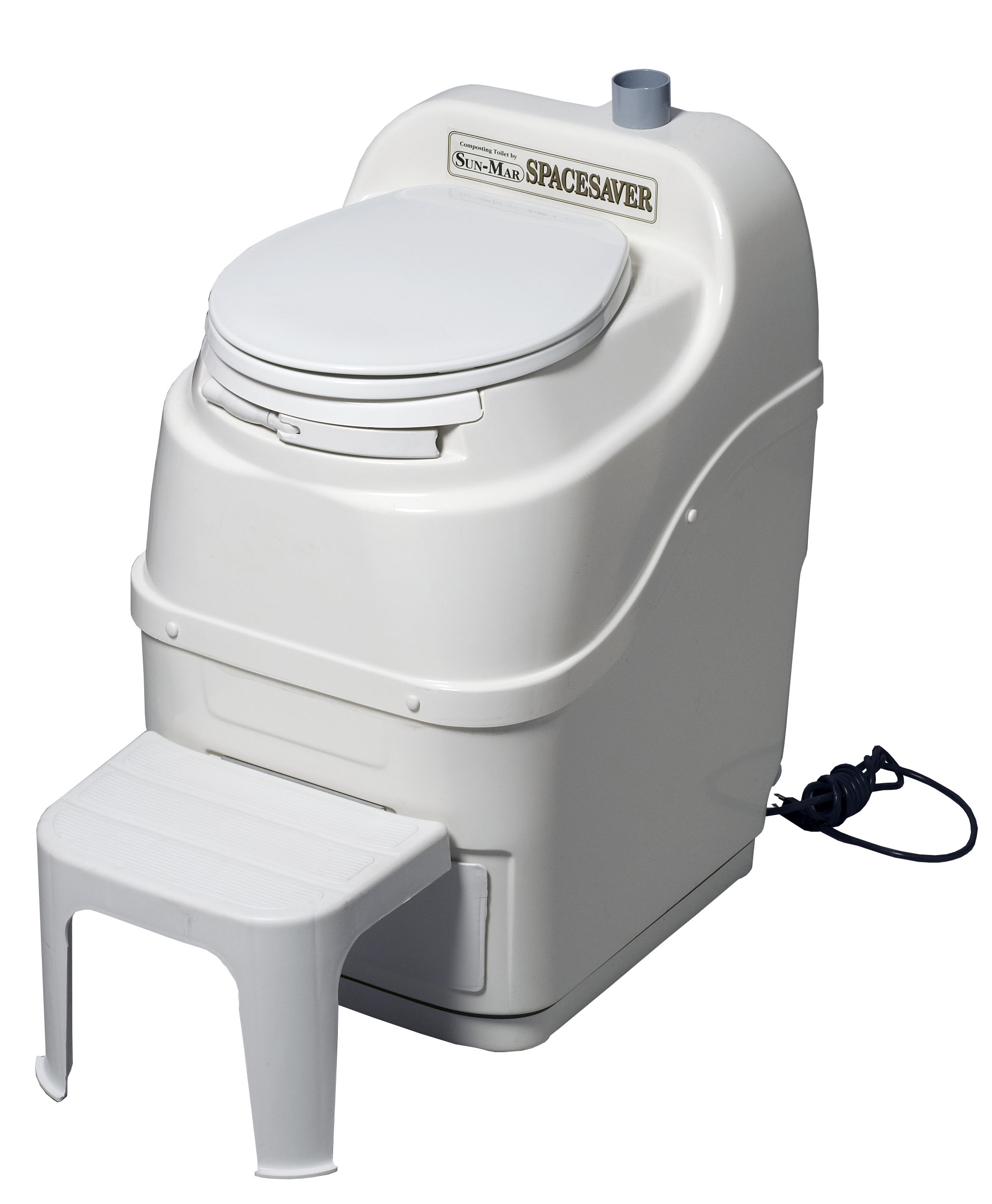 Sun-Mar Spacesaver Medium Capacity Composting Toilet Electric