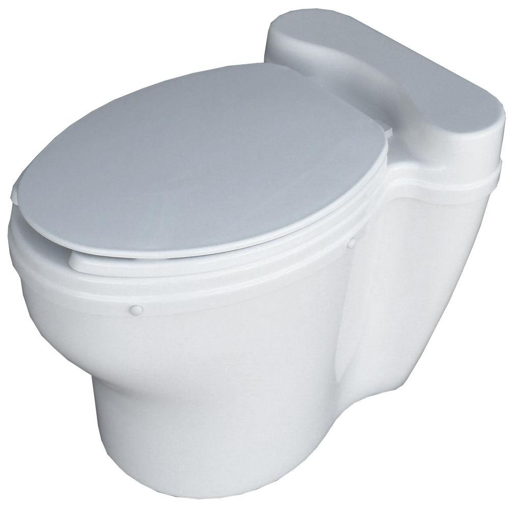 Sun-Mar ELONGATED dry Toilet for use with CENTREX Systems