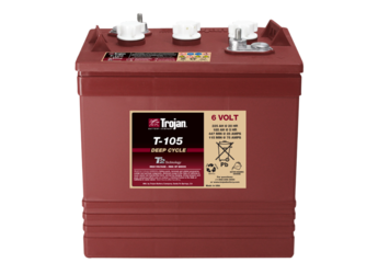 Trojan T-105-RE 6V 225Ah Flooded Deep Cycle Battery