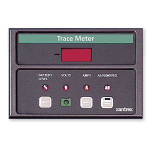Xantrex TM-500A Battery Amp Hour Meter Display w/ Shunt