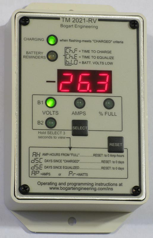 Trimetric 2025 RV DC Amp Hour Battery Meter System Monitor
