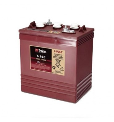 Trojan T-145 6V 260Ah Flooded Deep Cycle Battery