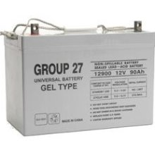 UPG UB-27 GEL Sealed Lead Acid (GEL) Battery- 12 volt 90 amps