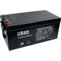 UPG UB-8D AGM Sealed Lead Acid (AGM) Battery- 12 volt 250 amps
