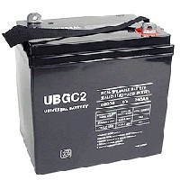 UPG UB-GC2 Sealed Lead Acid (GEL) Battery- 6 volt 200 amps