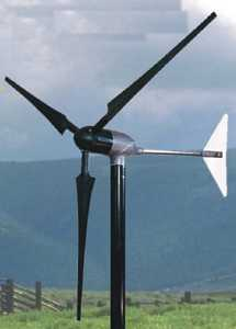 Southwest Windpower 900 Watt Whisper 100  Wind Generator 12, 24, 36 or 48 VDC with Charge controller