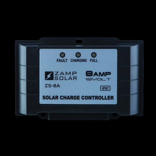 Zamp Solar 8-Amp Smart Controller - 5-Stage All Weather - *Not Lithium Ready  ZS-8AW