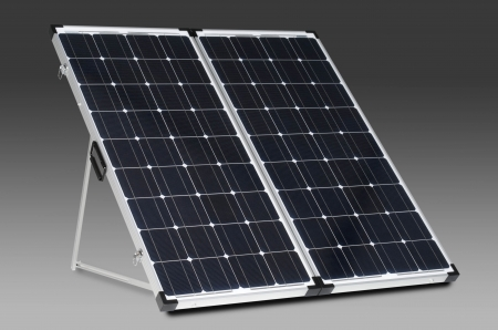 Zamp Solar 160w Deluxe Portable Foldable Solar Panel w/ Charge controller ZS-160-P Gen 6