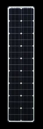 Zamp Solar 80 Watt 12v Slim Line Airstream Solar Panel 58 x 13.5