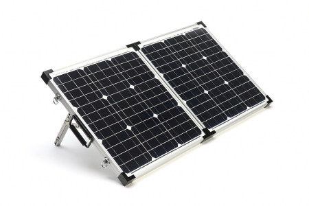 Zamp Solar 40w Deluxe Portable Foldable Solar Panel w/ Charge co